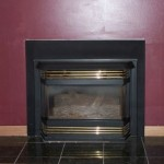 Fireplace before BK Woodworking of Ann Arbor designed a custom fireplace mantel